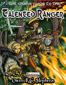 GG to the Talented Ranger Cover