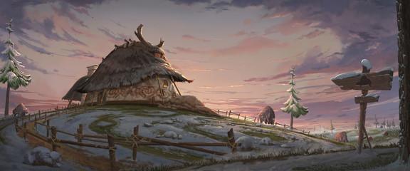 Fantasy Hut