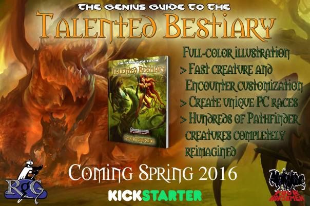 Talented Bestiary ad 01