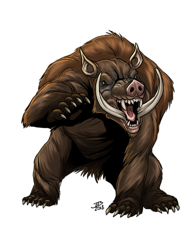 Grizzly Boar
