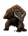 Starfinder Roleplaying Game Monster Design Notes–Really Wild West Bestiary: Grizzly Boar
