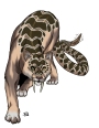 Starfinder Monster Design and Really Wild West Bestiary—Rattle-Cat