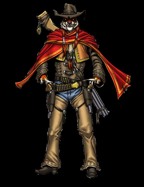 Rakshasa Gunslinger - JEB