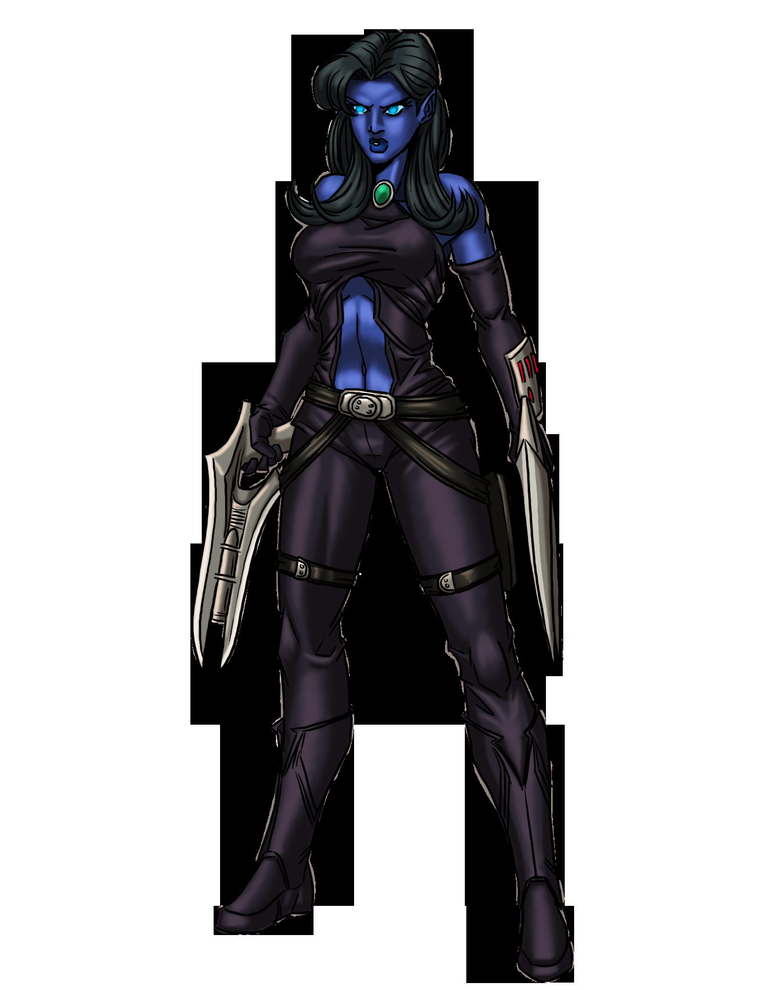 Female Alien Rogue-color