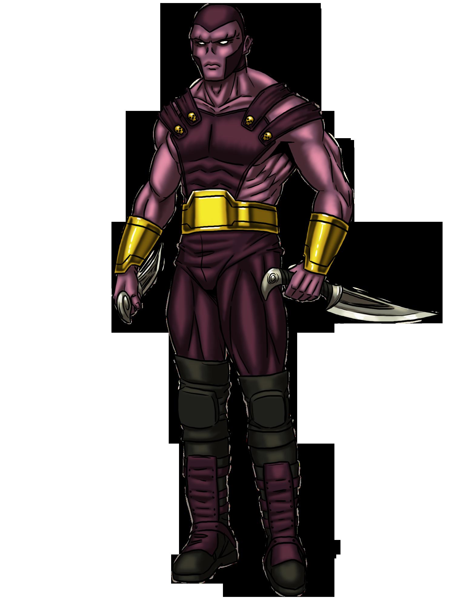 Male Alien Thug-color
