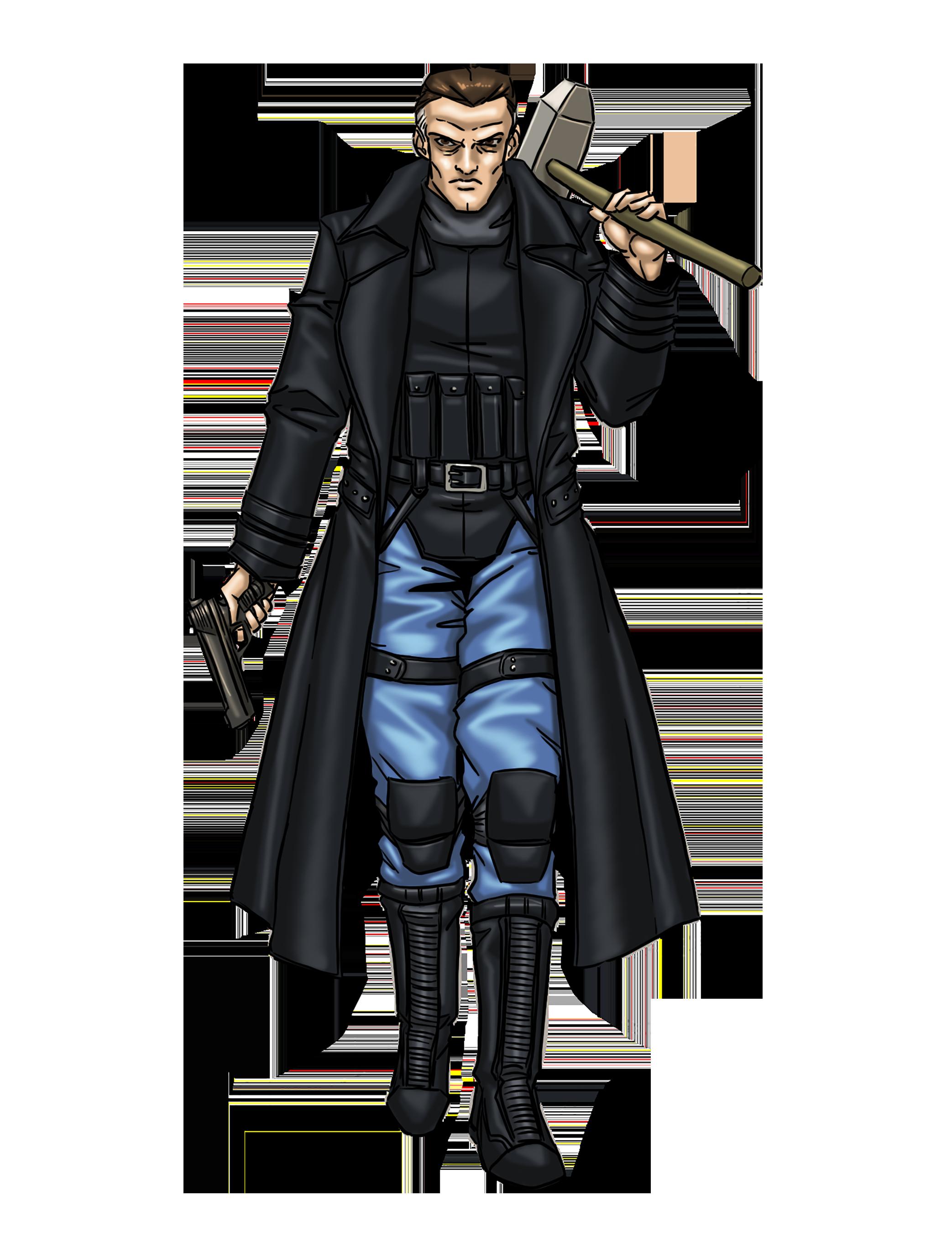 Male Punishing Vigilante color