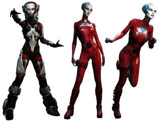 PA Alien Women