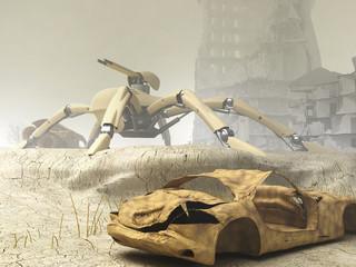 PA Spider Mech Titan
