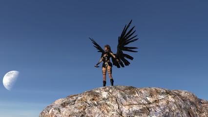 PA Winged Woman