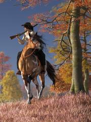 RWW Mounted cowgirl