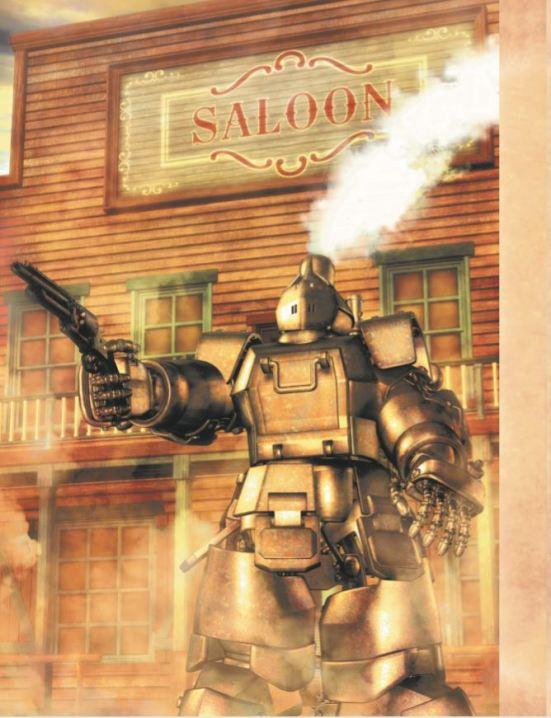 RWW Steam Powered Armor