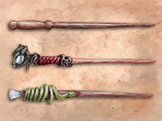 Dungeonfinder Magic Wands